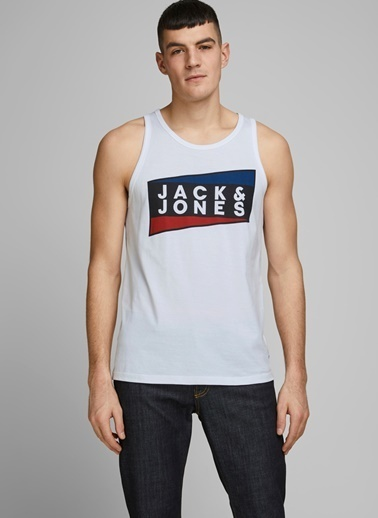 Jack & Jones Atlet Beyaz